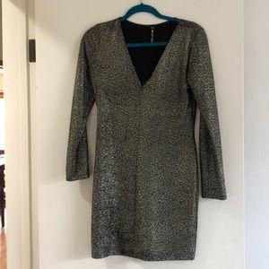 Lord & Taylor Design Lab metallic dress